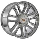 24 inch cadillac escalade platinum chrome wheels rims
