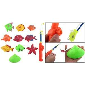 Como Kids Plastic Preschool Educational Fishing Design Toy