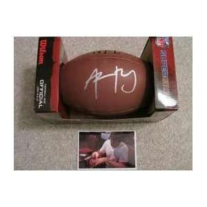 Aaron Rodgers Autographed Hand Signed Nfl Football W/proof   Green Bay