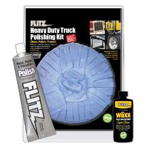 Flitz HD 31506 Mixed Heavy Duty / Truck Polishing Kit