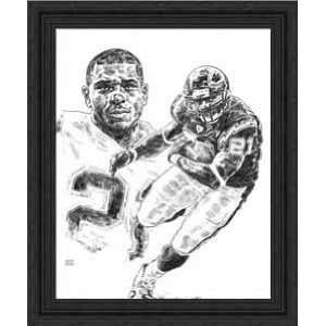 Framed LaDainian Tomlinson San Diego Chargers  Sports