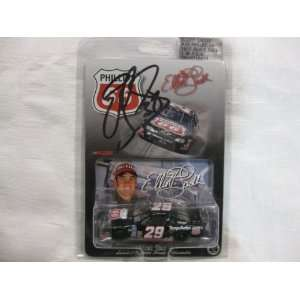 Nascar Die cast SIGNED #29 Elliott Sadler Phillips 66