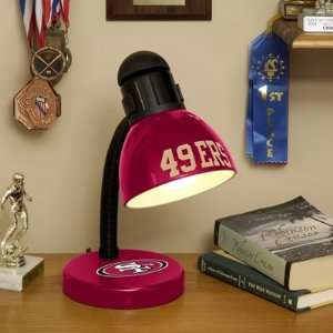 NFL San Francisco Football Desk Lamp