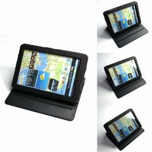 Black Multi View Rotating Stand Protector Cover Case for Samsung