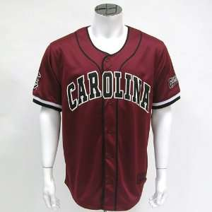 South Carolina Gamecocks NCAA Strike Zone Baseball Jersey