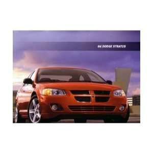 2006 DODGE STRATUS Sales Brochure Literature Book