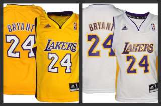 LA Lakers Kobe Bryant Kids Youth Jersey All ColorsSizes