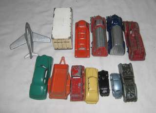 AWESOME LOT OF 13 DIECAST TOY VEHICLES LOT#R MANOIL RALSTOYS + MORE