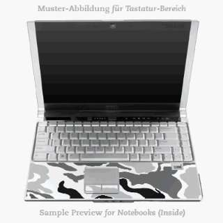 Tastatur (Inlay)   Schneegestöber Laptop Notebook Decal Skin Sticker