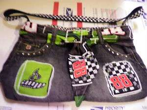 Handmade denim/jean #88 Dale JR AMP Energy purse CUTE