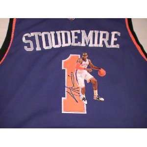 Amare Stoudemire Signed Autographed Jersey New York Knicks