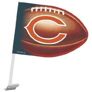 Chicago Bears Car Flag   NFL Car Flags