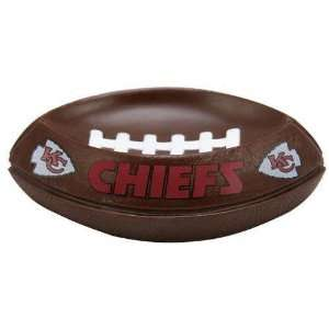 NFL Kansas City Chiefs Football Shape Soap Dish