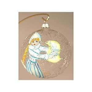 Christmas Tree Ornament   Ball Snow Maiden