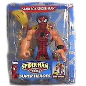 & Friends Sand Box Spiderman Action Figure By Toy Biz Toys & Games