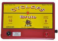 CYCLOPS BRUTE 80mile ELECTRIC FENCE CHARGER ENERGIZER