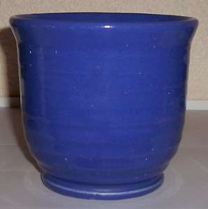 BAUER POTTERY RING WARE COBALT BEATER BOWL