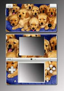 Golden Retriever Puppy Dog game Skin 9 for Nintendo DSi