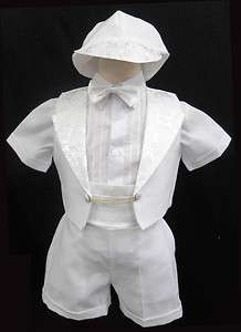 New Baby Boy Toddler Christening Baptism Outfit Formal size 0 1 2 3 4