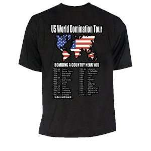 US World Domination Tour T Shirt   T Shirt Gr. XXL  Sport