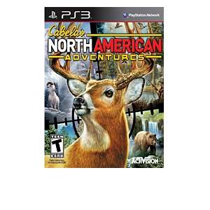 Activision Cabelas North American Adventures Hunting Video Game