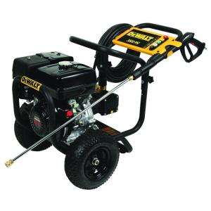 DEWALT Gas Pressure Washer 3800psi 3.5 GPM Honda GX270 270 CC engine