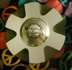 NEW HOT WHEELS REVOLUTION CUSTOM RIMS WHEEL CENTER CAP BY KMC 6 7/8