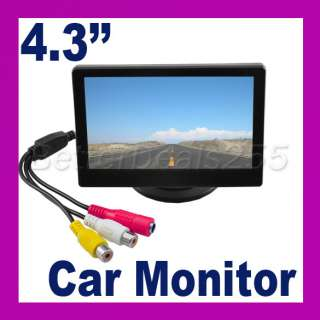 TFT LCD Car Monitor Reverse Rearview Color Camera
