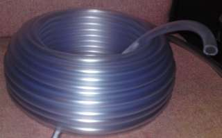 Clear PVC Tubing Hose Tube 10mm (3/8)   2 MTR Pipe