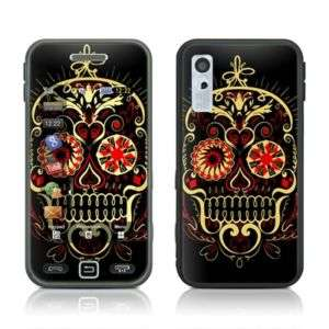 Samsung Star S5230 Skin Cover Case Decal Poker Skulls