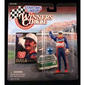 NASCAR Series Action Figure & Exclusive Collector Trading Card Toys