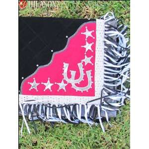 411 Western Show Barrel Racing Rodeo Saddle Blanket Pad