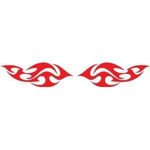Flames Vinyl Decals Kit 11 Left and Right Car Truck Boat Pick Size And