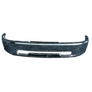 TKY DG40101B Dodge Ram Chrome Replacement Front Bumper Automotive