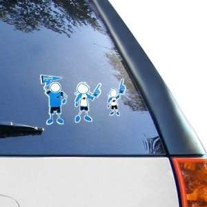 12 x 12 Family Car Decal Sheet