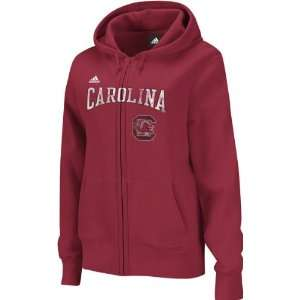 South Carolina Gamecocks adidas Red Womens Distressed Classic Full