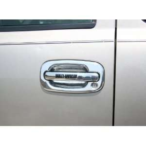 Silverado Harley Davidson Chrome Door Handle Covers   Lettering Style