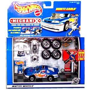 Hot Wheels   MechaniX   Hot Wheels Monte Carlo #1 Car (Blue & White