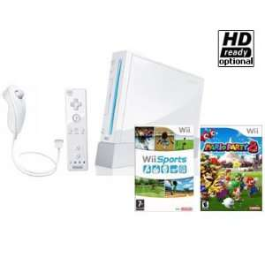 NEW Nintendo Wii System + Wii Sports Game + Wii Mario