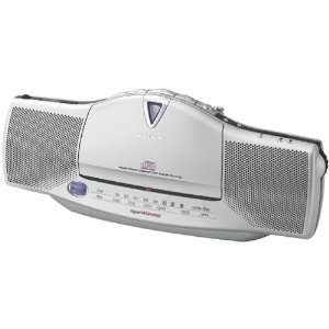 Sony CFD E10 Slim Line Portable FM/AM/CD Player with CD R