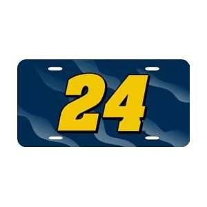 Jeff Gordon Nascar Racing License Plate