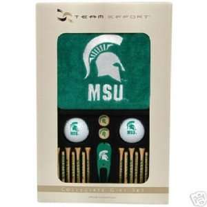 New Team Effort NCAA Michigan State Spartans 21 Piece Golfers Gift Set