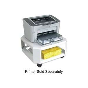 Master Mobile Printer Stand Steel ? Platinum ? Click For