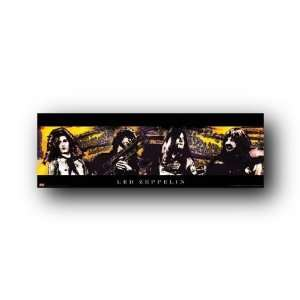 Led Zeppelin (Group, Psychedelic) Music Poster Print