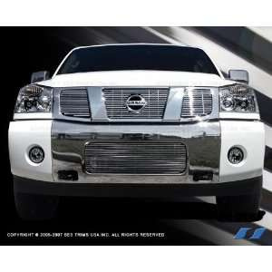 2004 2007 Nissan Armada / Titan (Bottom Grill) 304 Stainless Steel