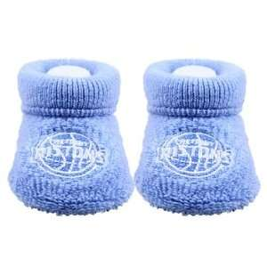 Detroit Pistons Light Blue Bootie Socks (0 3 Months)