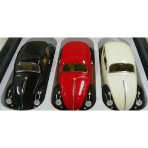 Superior 1/18 Scale Diecast 1967 Volkswagen Beetle Box of Three Cars