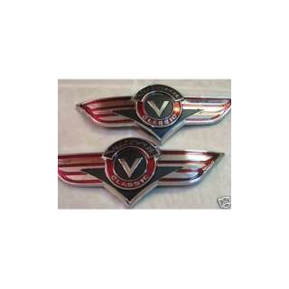 Vulcan VN Classic Gas Tank Emblem Badge Decals