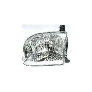 01 04 TOYOTA SEQUOIA HEADLIGHT LH (DRIVER SIDE) SUV (2001