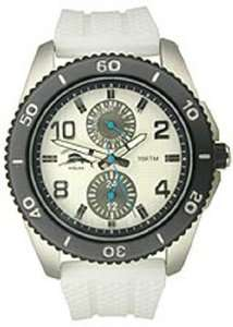 Tommy Bahama Relax Silicone Strap White Dial Mens watch